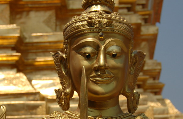 Statue at Wat Phra That Doi Suthep