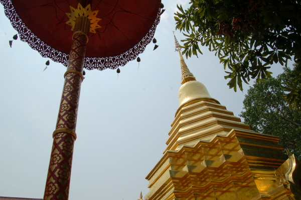 One of the many temples in Chiang Mai