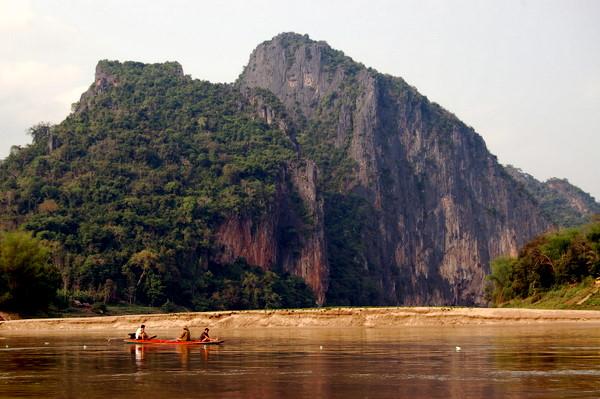 Scenery near Luang Prabang