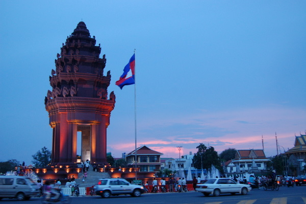 National Monument in Phnom Penh