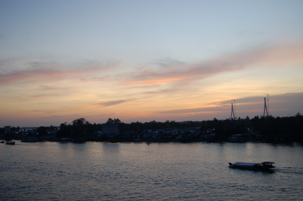 Dawn on the Mekong Delta